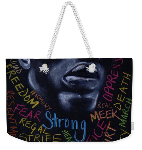 Appreciate Your Past- Look To The Future Weekender Tote Bag