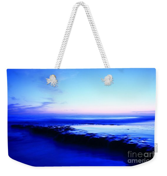 Swamis Beach Sunset Weekender Tote Bag