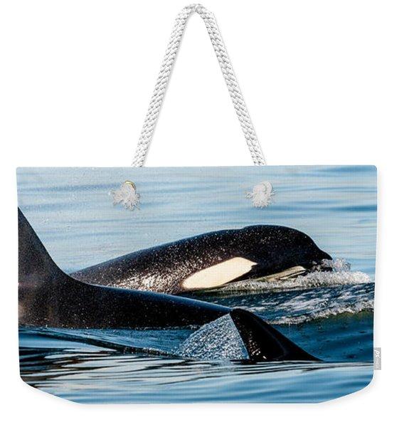 Aquatic Immersion Weekender Tote Bag