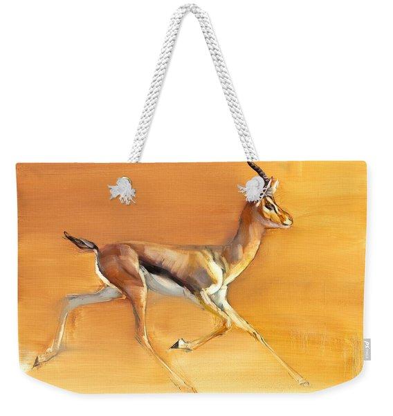 Arabian Gazelle Weekender Tote Bag