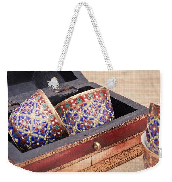 Arabian Teacups Weekender Tote Bag