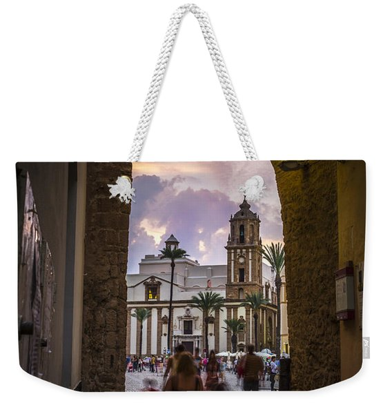 Arc Of The Rose Cadiz Spain Weekender Tote Bag