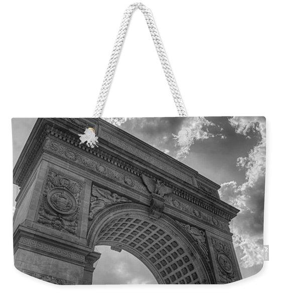Arch At Washington Square Weekender Tote Bag