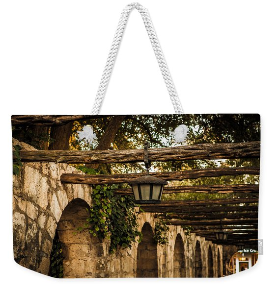 Arches At The Alamo Weekender Tote Bag