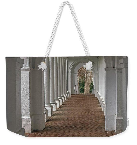 Arches At The Rotunda At University Of Va Weekender Tote Bag