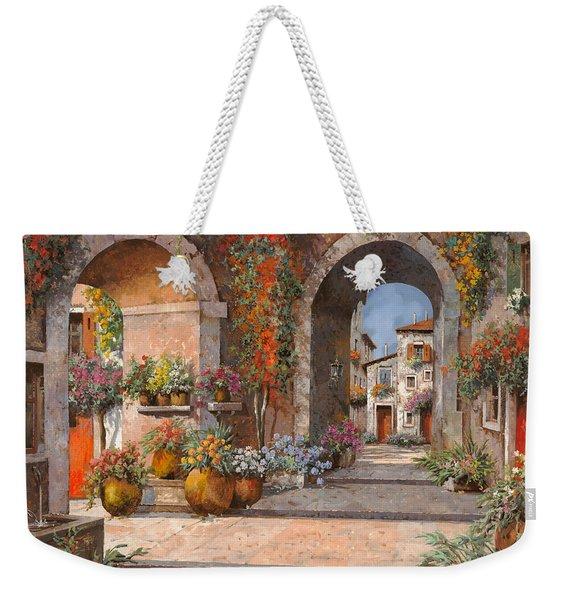 Archi E Sotoportego Weekender Tote Bag