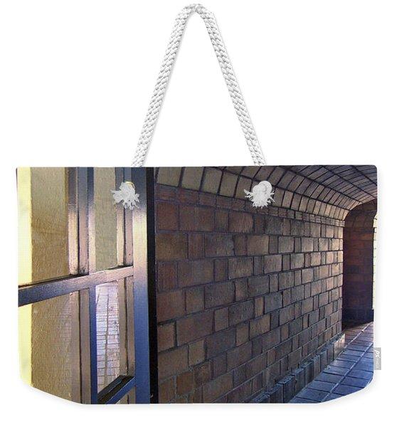 Archway In Mission Inn Riverside Weekender Tote Bag