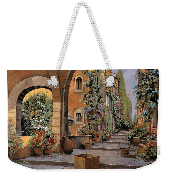 Arco E Arcata Weekender Tote Bag