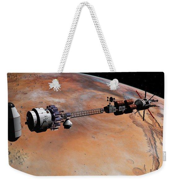 Ares1 Release Weekender Tote Bag