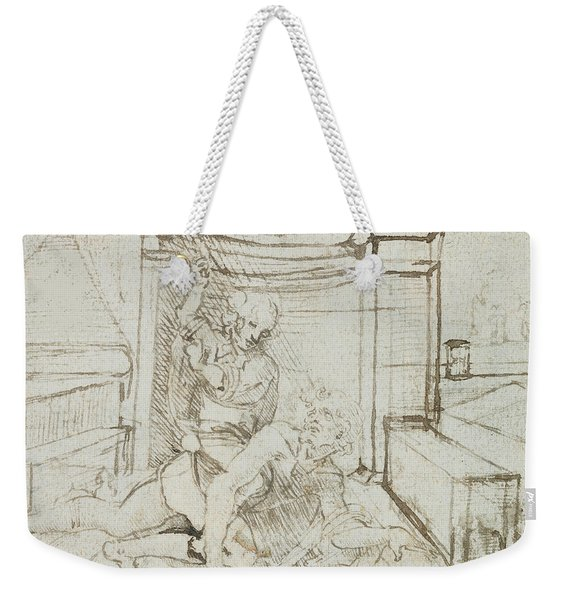 Aristotle And Phyllis Weekender Tote Bag