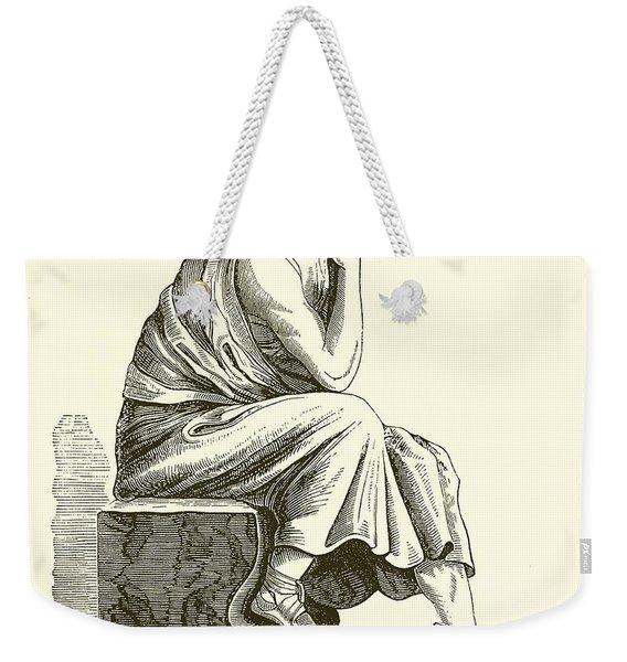 Aristotle Weekender Tote Bag