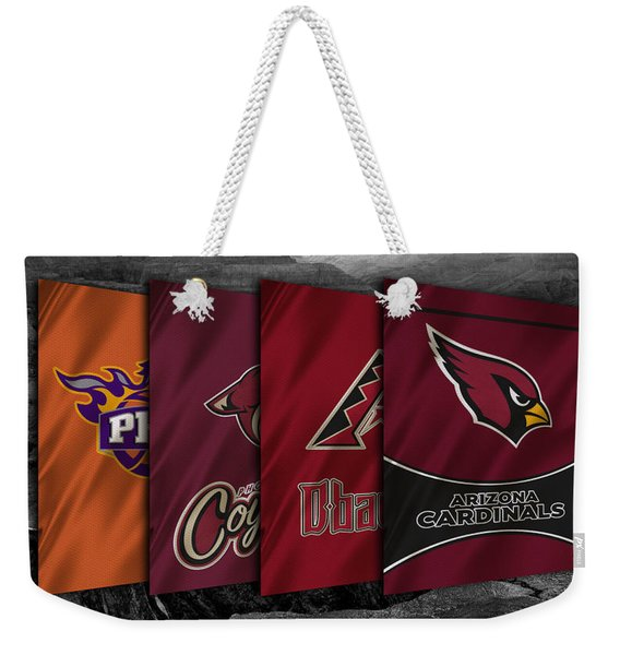 Arizona Sports Teams Weekender Tote Bag