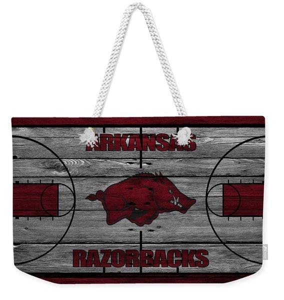 Arkansas Razorbacks Weekender Tote Bag