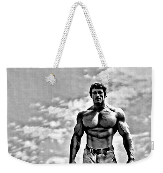 Arnold Schwarzenegger Weekender Tote Bag