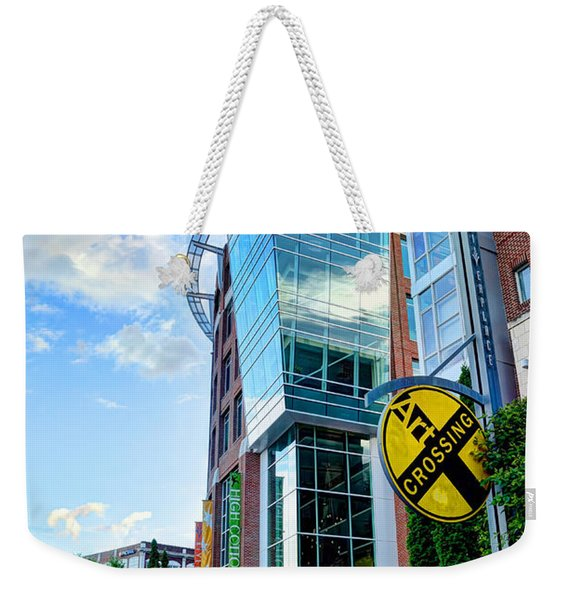 Art Crossing Weekender Tote Bag