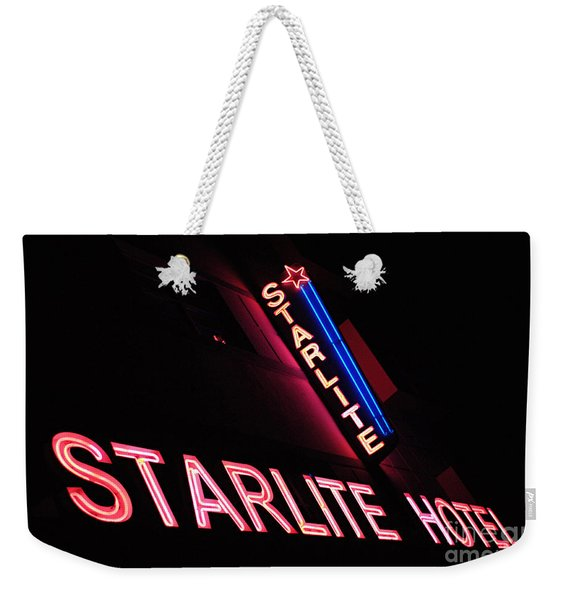 Starlite Hotel Art Deco District Miami 3 Weekender Tote Bag