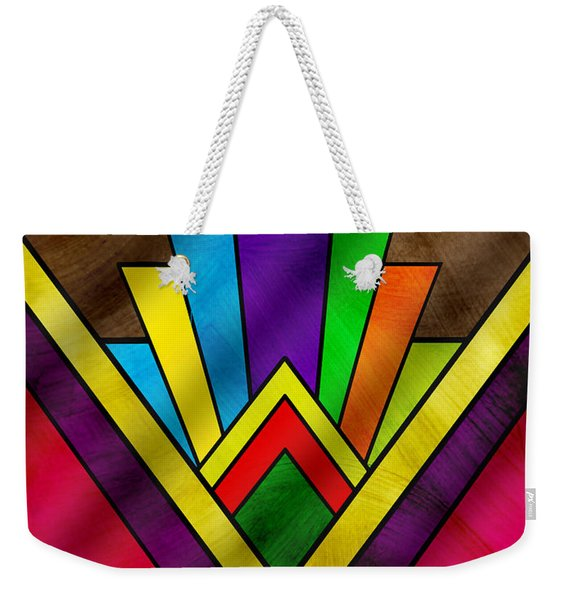 Art Deco Pattern 7v Weekender Tote Bag