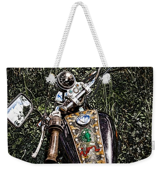Art In The Weeds Weekender Tote Bag