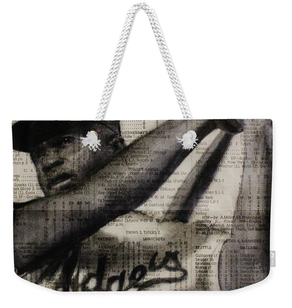 Art In Thenews 16-jackie Weekender Tote Bag