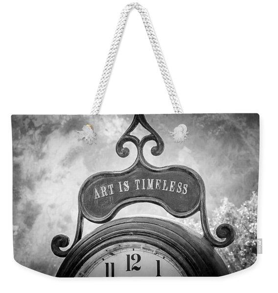 Art Is Timeless Weekender Tote Bag