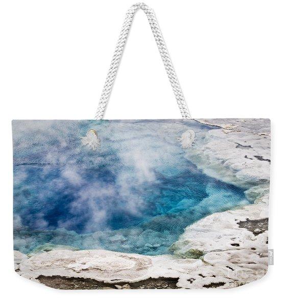 Artemisia Geyser Weekender Tote Bag