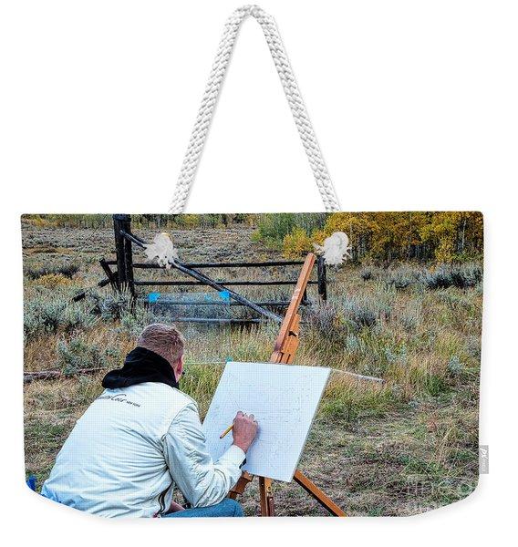 Artist Point Weekender Tote Bag