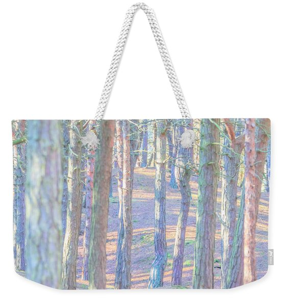 Weekender Tote Bag featuring the photograph Artistic Trees by Susan Leonard