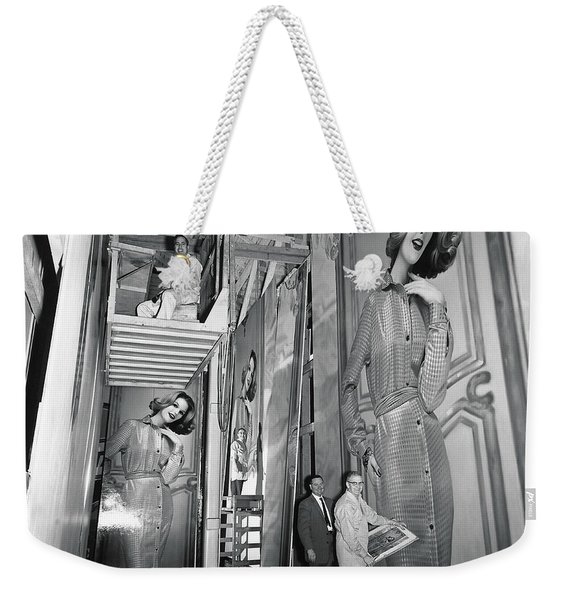 Artists Creating Billboards Weekender Tote Bag