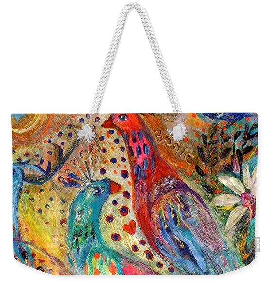 Artwork Fragment 34 Weekender Tote Bag
