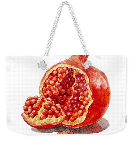 Artz Vitamins A Pomegranate  Weekender Tote Bag
