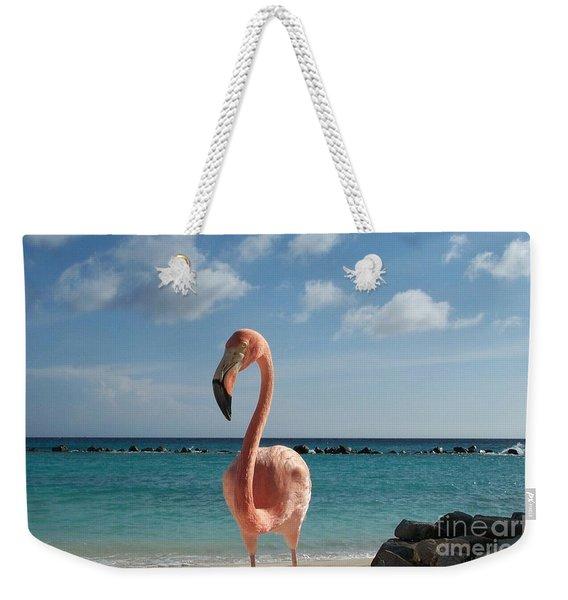 Aruba Hairy Eyeball Weekender Tote Bag