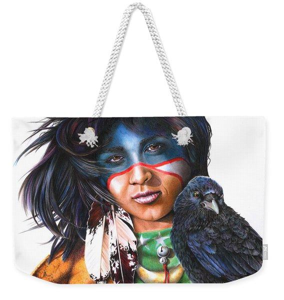 As The Crow Flies Weekender Tote Bag