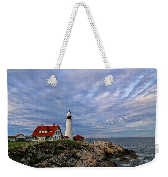 As The Sky Reaches The Water Weekender Tote Bag