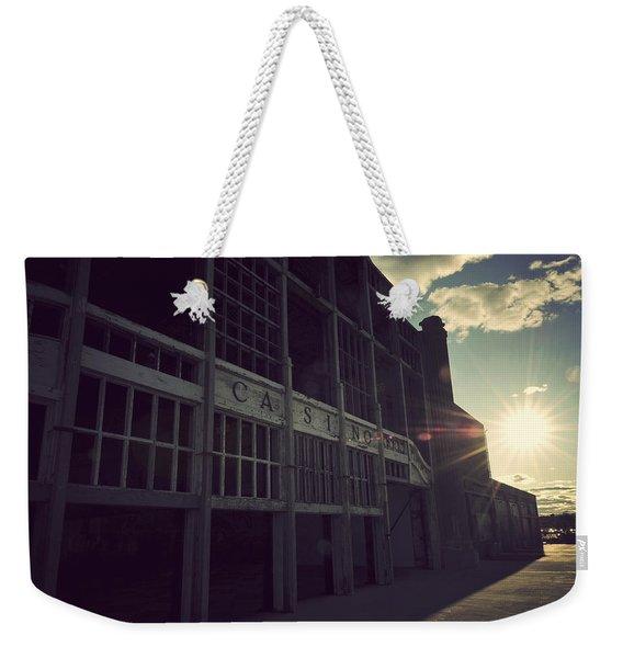 Asbury Park Nj Casino Vintage Weekender Tote Bag
