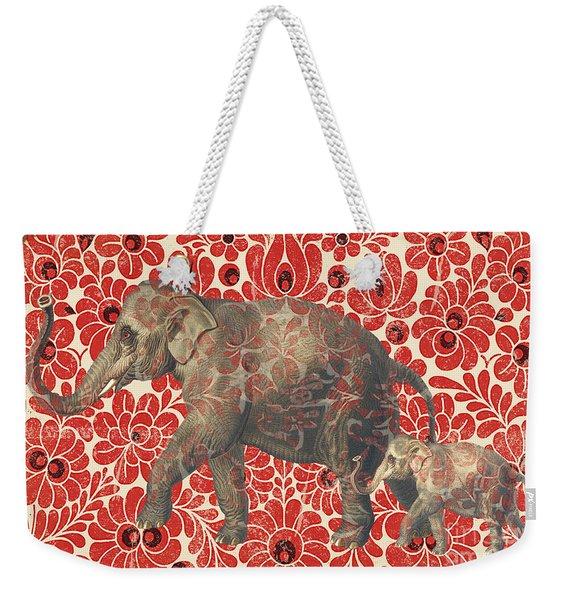 Asian Elephant-jp2185 Weekender Tote Bag