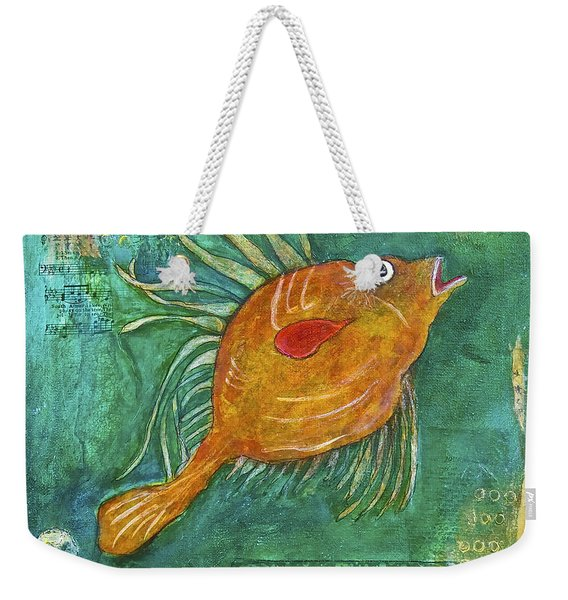 Asian Fish Weekender Tote Bag