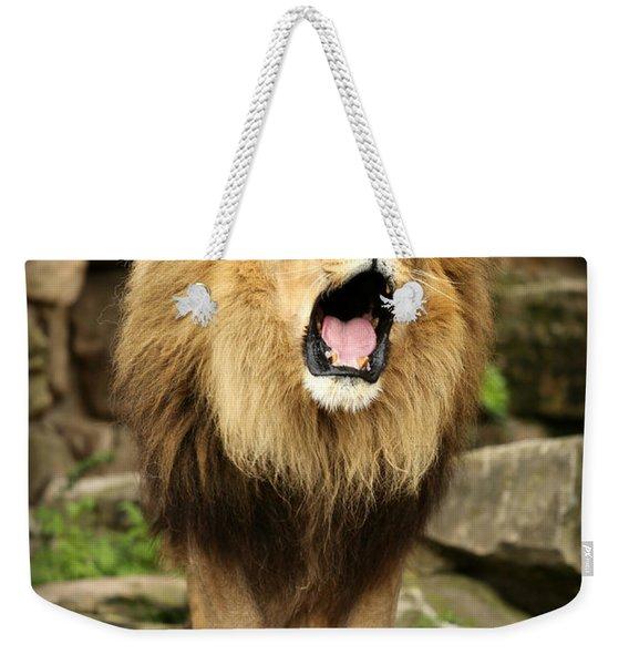Aslan's Roar Weekender Tote Bag