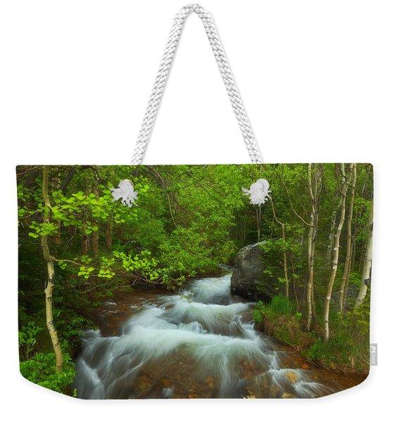 Aspen Creek Weekender Tote Bag
