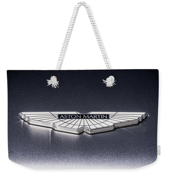 Aston Martin Badge Weekender Tote Bag