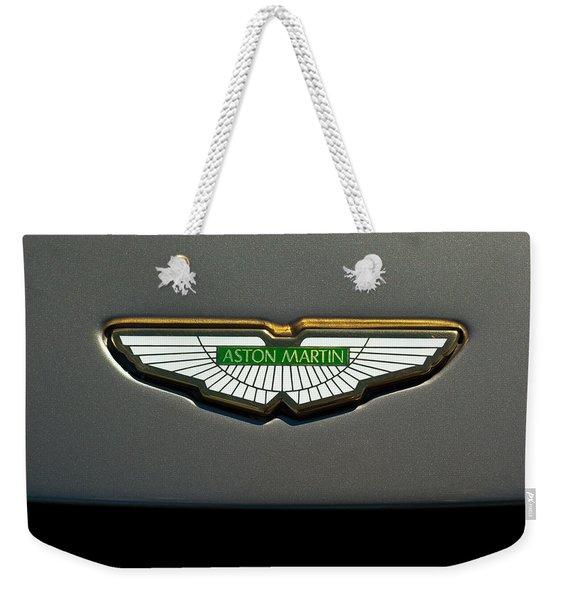 Aston Martin Emblem Weekender Tote Bag