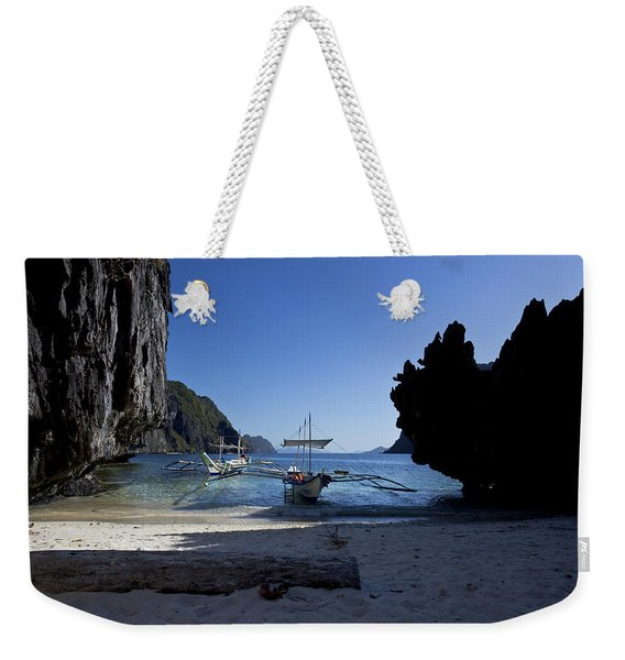 At Anchor Weekender Tote Bag