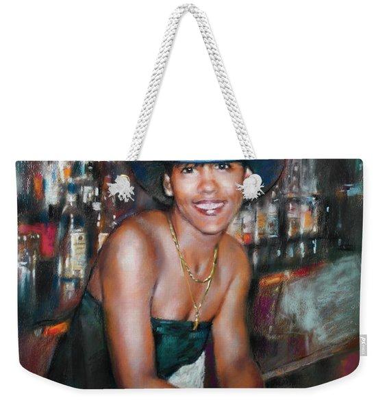 At The Bar Weekender Tote Bag