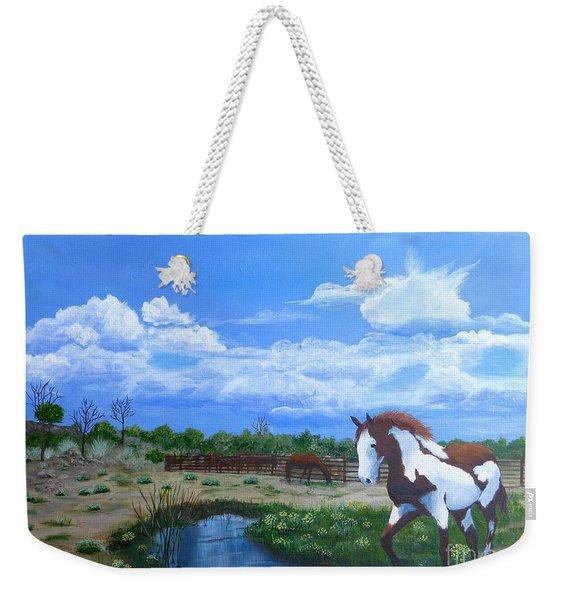 At The Ranch Weekender Tote Bag