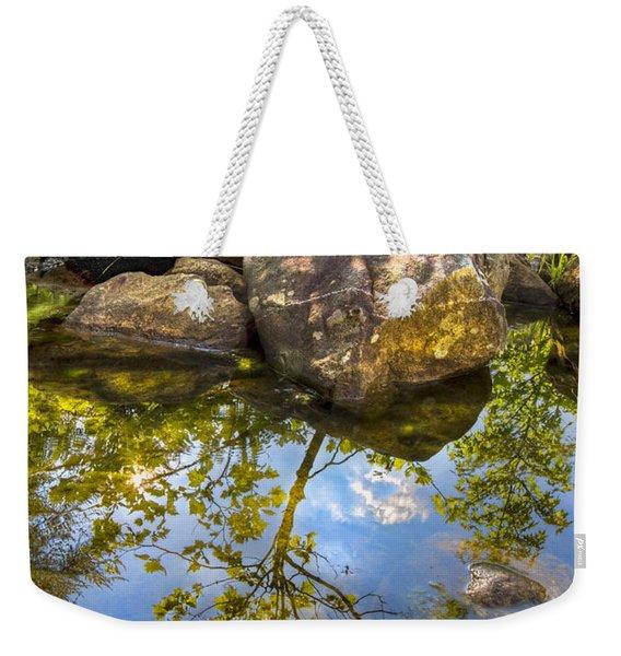 At The River Weekender Tote Bag