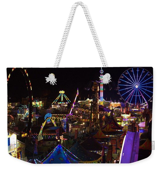Atop The Carnival Weekender Tote Bag
