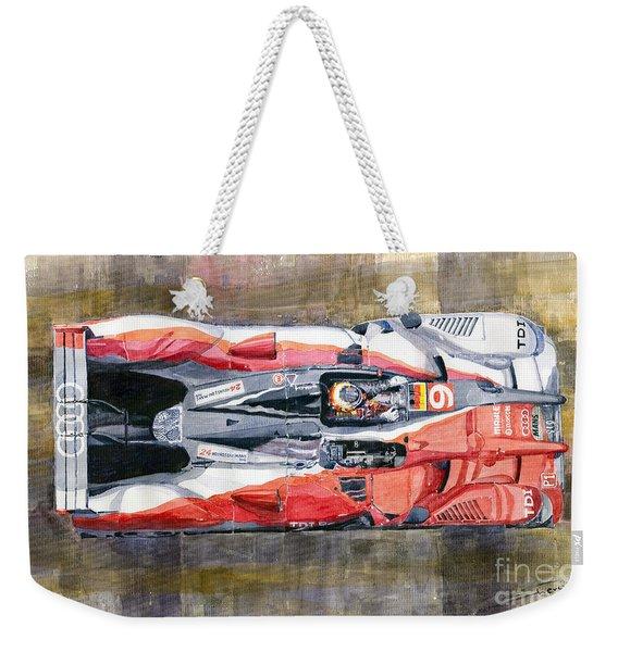 Audi R15 Tdi Le Mans 24 Hours 2010 Winner  Weekender Tote Bag