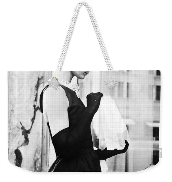 Audrey At Tiffanys Weekender Tote Bag