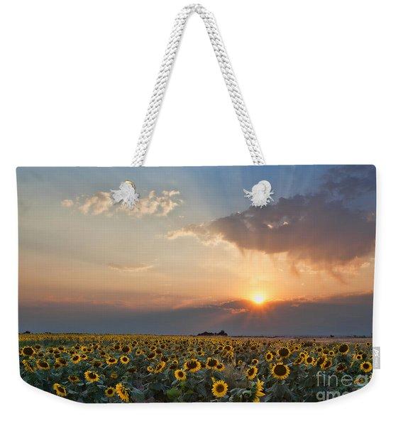 August Dreams Weekender Tote Bag
