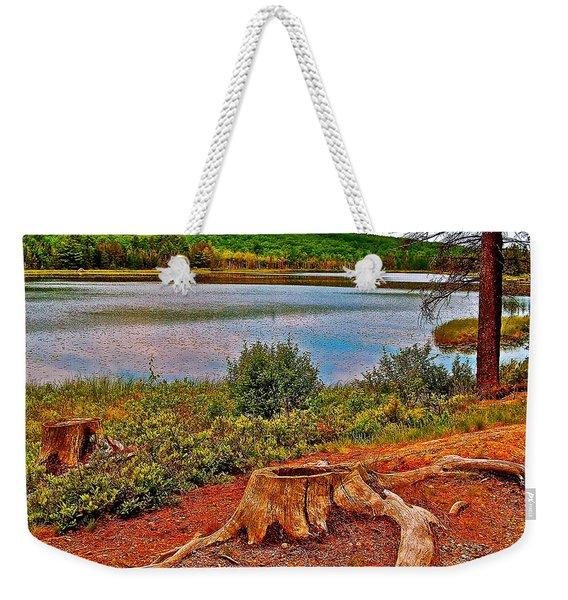 Aunt Betty Pond In Acadia National Park-maine  Weekender Tote Bag