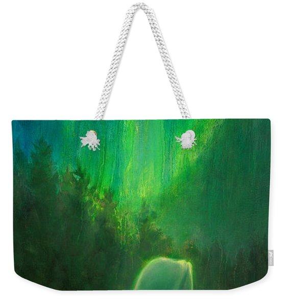 Aurora Beluga Weekender Tote Bag